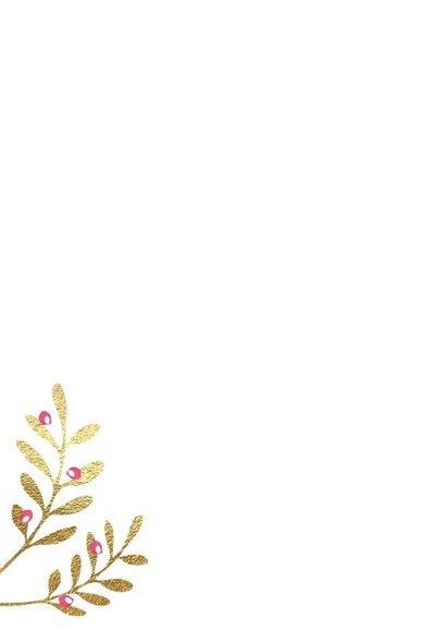 Grappige kerstkaart Witte kerst wijn 2