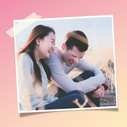 Grappige liefdeskaart met 2 puzzelstukjes - perfect match! 2