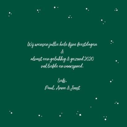 Grappige Rudolf het Rendier wenst je een fijne feestdagen 3