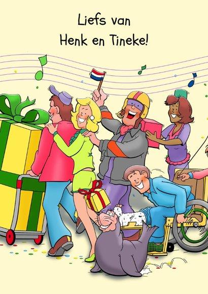 Grappige verjaardagskaart polonaise voor een vrouw 2