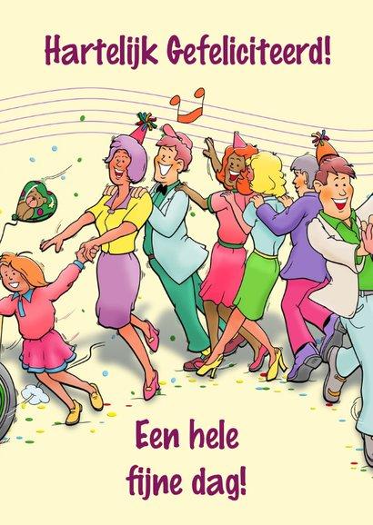 Grappige verjaardagskaart polonaise voor een vrouw 3