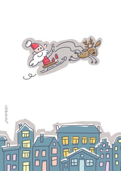 Grappige zakelijke kerstkaart makelaardij 2