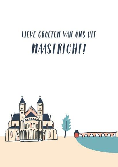 Groeten uit Maastricht gebouwen  3
