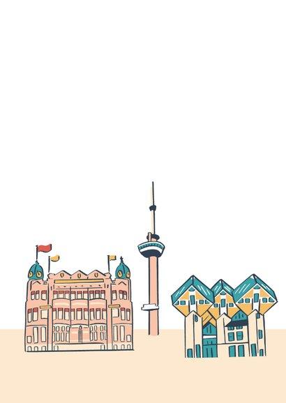 Groeten uit Rotterdam gebouwen  2