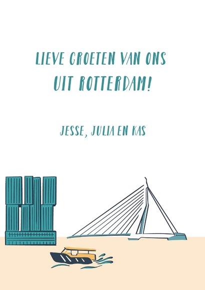 Groeten uit Rotterdam gebouwen  3