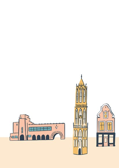 Groeten uit Utrecht gebouwen 2