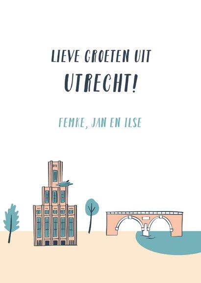Groeten uit Utrecht gebouwen 3