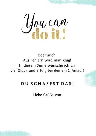 Grußkarte Erfolg 'Failure is succes in progress' 3