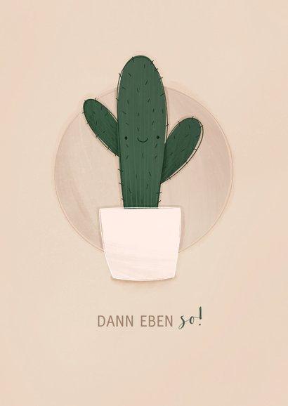 Grußkarte Kaktus-Umarmung 2