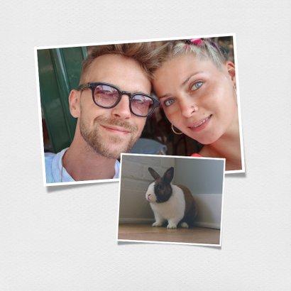 Grußkarte Liebe Grüße Polaroidfoto 2