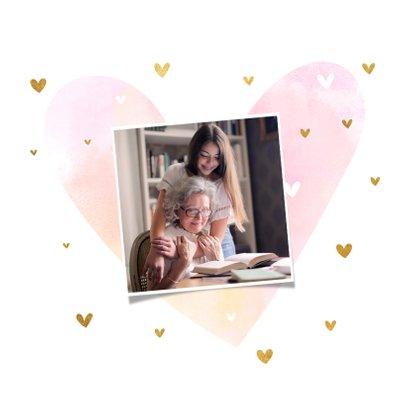 Grußkarte Liebe Oma Foto innen 2