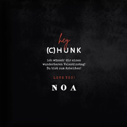 Grußkarte Valentinstag Chocolate (C)Hunk 3