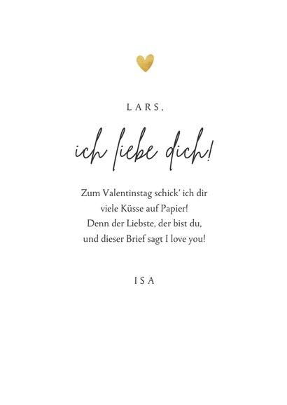 Grußkarte Valentinstag eigene Fotos & Herz 3