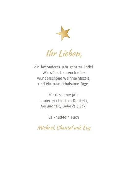 Grußkarte Weihnachten Fotocollage 'Merry Christmas' 3