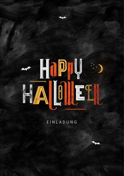Halloween-Einladungskarte mit Foto 2
