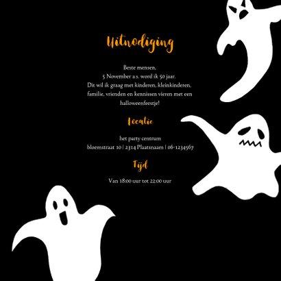 Halloween feestje spoken en waterverf 3