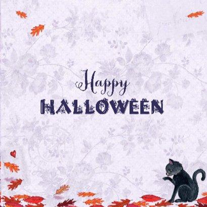 Halloween kaart Heks Vleermuis 3