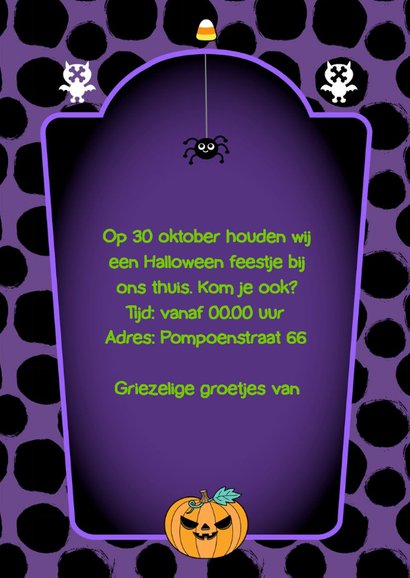 Halloween party candy 3