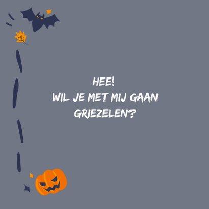Halloweenkaart Boo 2