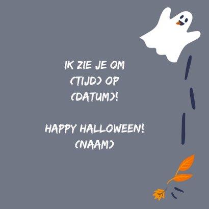 Halloweenkaart Boo 3