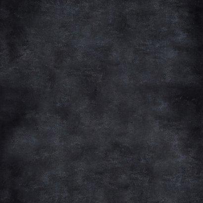 Handlettering kerstkaart zwartwit kerstboom Achterkant