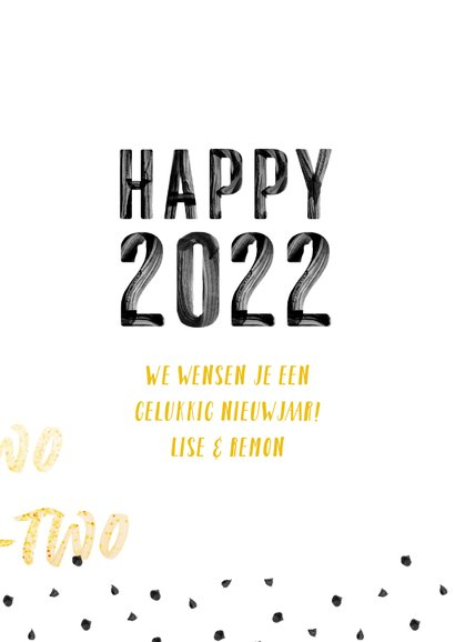 Happy 2022 verf letters 3