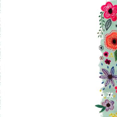 Happy Birthday Bloemen Vrolijk 3