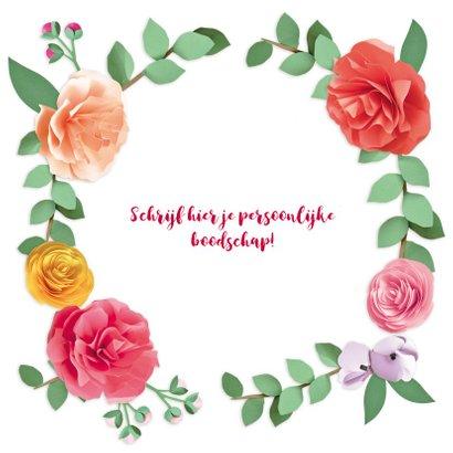 Happy birthday bloemenkrans 3