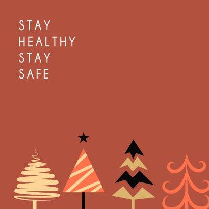 Happy Holidays kerstbomen feestje 2