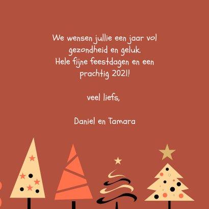 Happy Holidays kerstbomen feestje 3