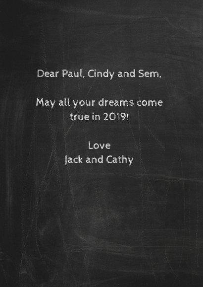 Happy New Year 2019 schoolbord-ByF 3