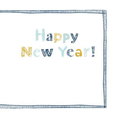 Happy New Year letters 3