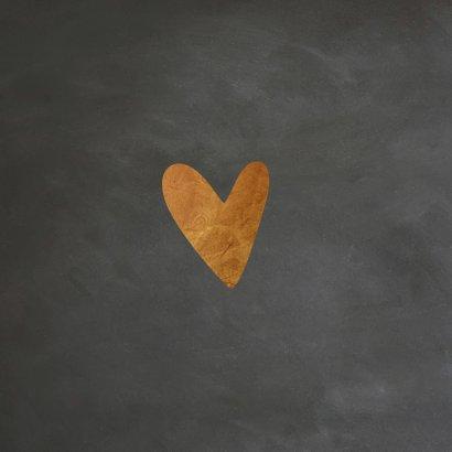 Happy Valentine krijtbord look - LO 2
