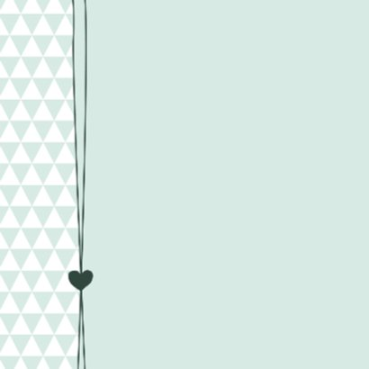 Hartje, driehoekjes, jongen 2