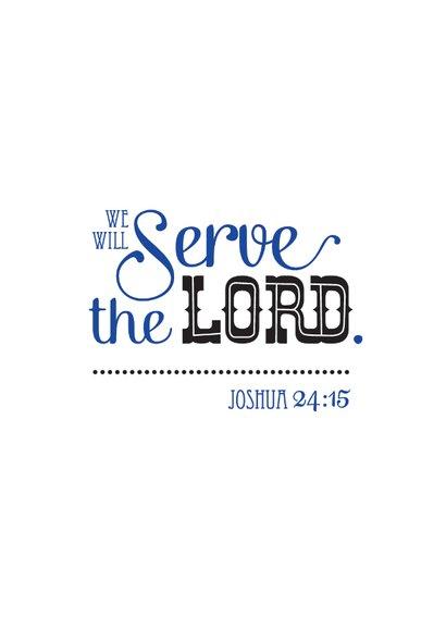 HEE Goodies bijbel tekst Joshua 24 15 2