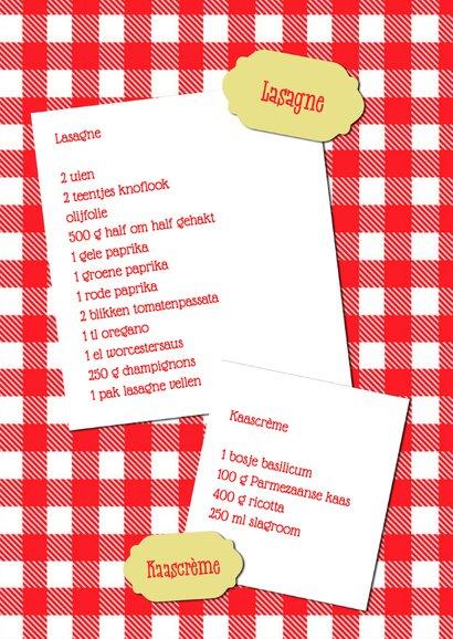Heerlijk lasagne recept - DH 2