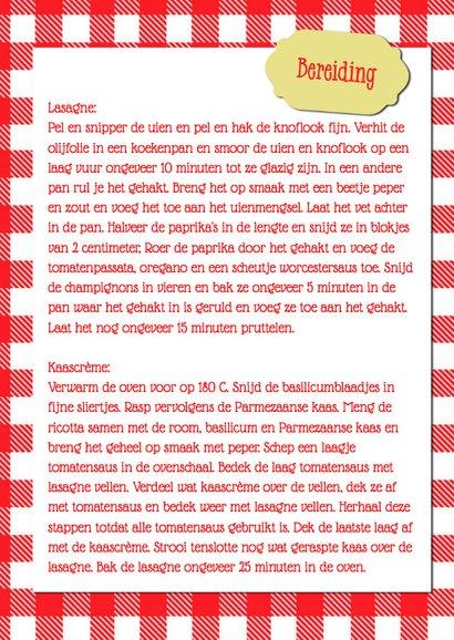 Heerlijk lasagne recept - DH 3