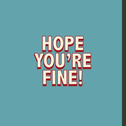Hey handsome - retro - zomaarkaart 2