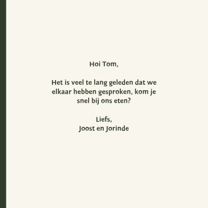 Hey handsome - retro - zomaarkaart 3