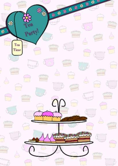 High Tea uitnodiging PARTY GIRLS 2