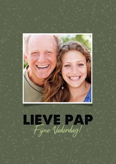 """Hippe vaderdag kaart """"lieve pap je bent de beste!""""  2"""