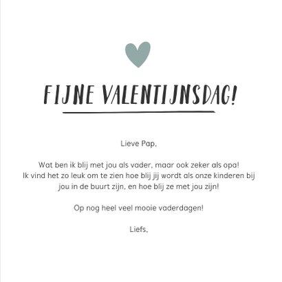 Hippe valentijnskaart voor de leukste opa of vader  3