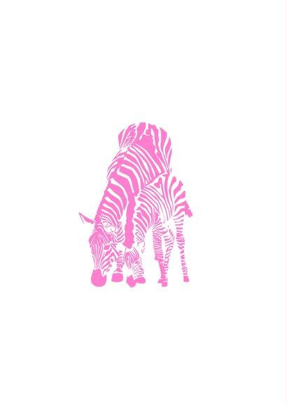 Hoera een meisje - zebra's 2