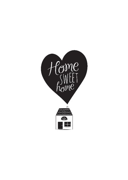 Home sweet home hartje huisje 2