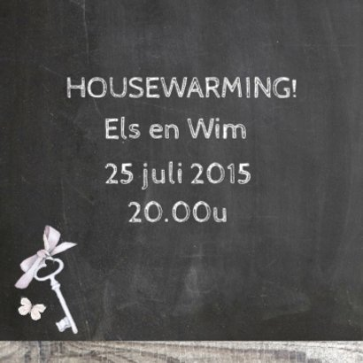 housewarming houten huisjes 2