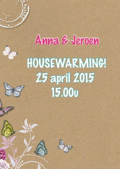 housewarming vogelhuis 2
