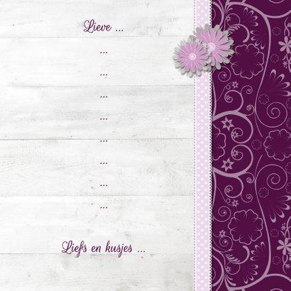 Hout met Label My Love - BK 3