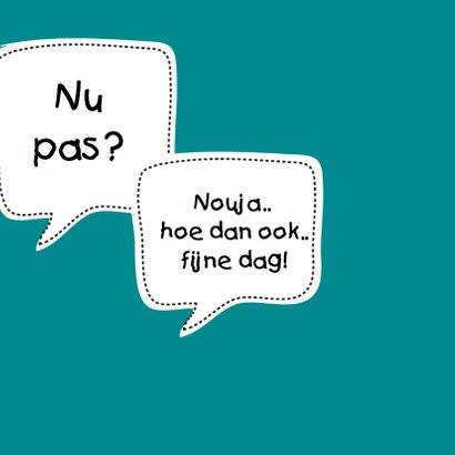 Humor Man Verjaardag Kaart Leeftijd Oud Kaartje2go