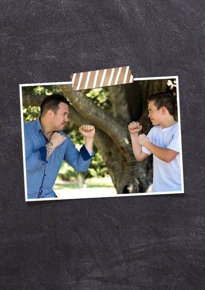 Humoristische vaderdagkaart - Vader van beste persoon  2