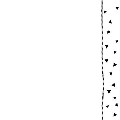 Huwelijk driehoekjes confetti 3